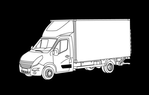Kastenwage Vermietung - Umzugsauto Baden